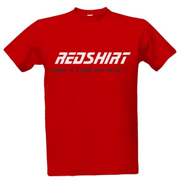 Tričko s potiskem Star Trek tričko - Redshirt  1ba0978b33